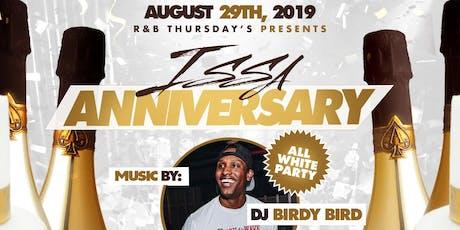 R&B Thursday Presents: Issa Anniversary tickets