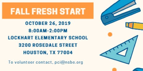 2019 NSBE Houston Fall FreshStart tickets