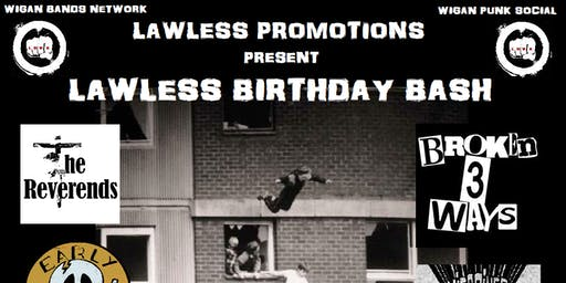 LAWLESS BIRTHDAY BASH