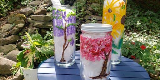 Vase/Mason Jar Painting Workshop