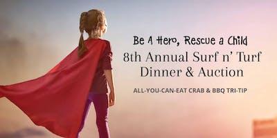 8th Annual Agape Villages Surf n' Turf Dinner & Auction