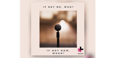 ✨ If not me, who? If not now, when? ✨ entradas