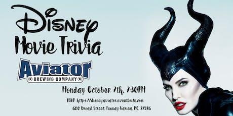 Disney Movie Trivia at Aviator Tap House tickets