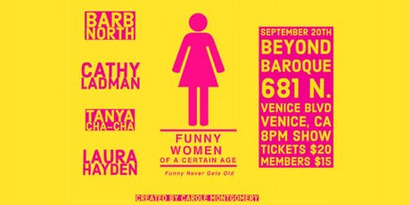 Funny Women of a Certain Age  tickets