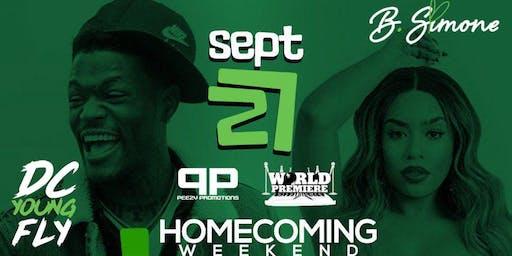 """HaHaPalooza Comedy Jam"" DC Young Fly & B. Simone"