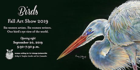BIRDS: Art Show Opening and Fundraiser tickets