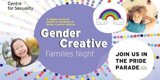 Gender Creative Families Night