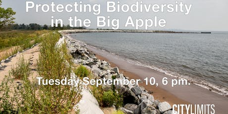 Protecting Biodiversity in the Big Apple tickets