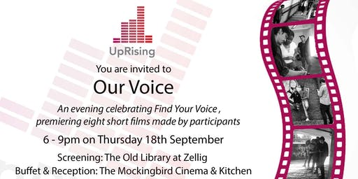 Our Voice - an evening celebrating the Find Your Voice programme