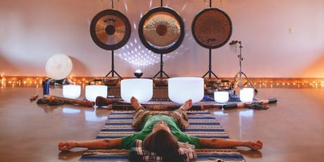 Sound Bath Sanctuary in Port Coquitlam @ Rasa Flow Yoga  tickets