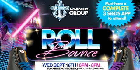 Roll Bounce! 3 Seeds Mentoring Group Skate Party tickets