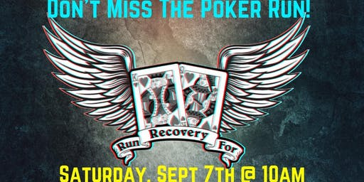 6th Annual Kings and Queens Run for Recovery Poker Run