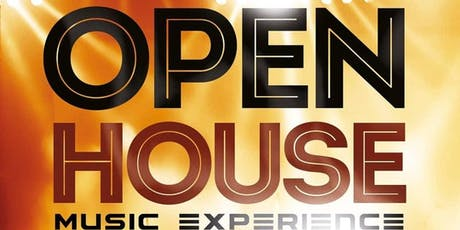 Open House -Music Experience tickets