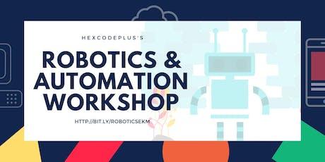 Robotics &  Automation Workshop tickets