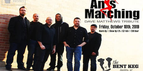Ants Marching (Dave Matthews Band Tribute) at The Bent Keg tickets