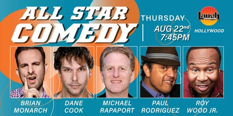Dane Cook, Michael Rapaport, and more - All-Star Comedy! tickets