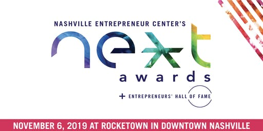 2019 NEXT Awards + Entrepreneurs' Hall of Fame