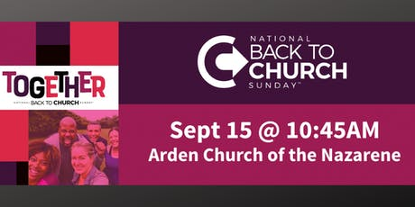 National Back To Church Sunday tickets