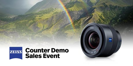 Zeiss Counter Demo Sales Event tickets