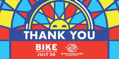 Bike for Boys & Girls Clubs Thank You Party tickets