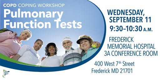 COPD Coping Workshop: Pulmonary Function Tests