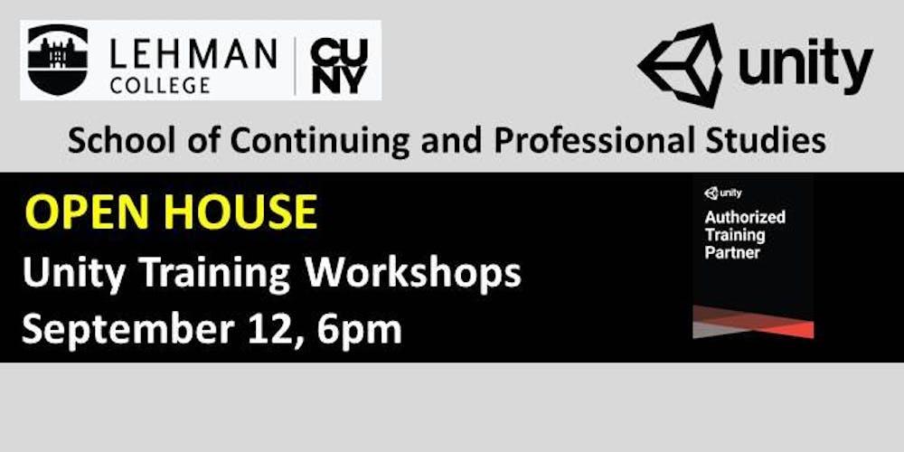 OPEN HOUSE- Unity Training Workshops Tickets, Multiple Dates