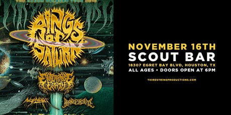 Rings Of Saturn at Scout Bar tickets