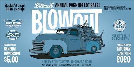 Biltwell Blowout tickets
