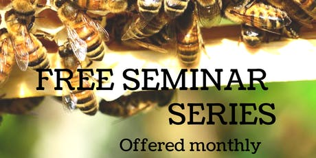 Free Beekeeping Seminar Class - Honey Harvest, Fall Management, Winter Prep tickets