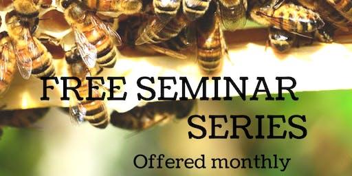 Free Beekeeping Seminar Class - Honey Harvest, Fall Management, Winter Prep