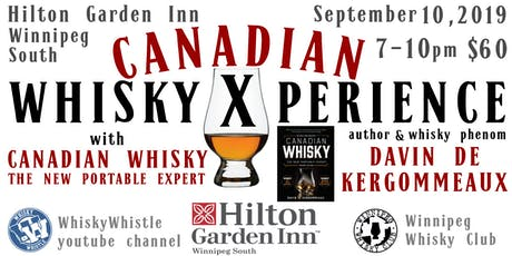 CANADIAN WHISKY XPERIENCE tickets