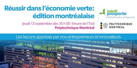 Réussir dans l'économie verte: édition montréalaise tickets