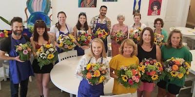 DIY Flower Design Workshop- Fall Flowers