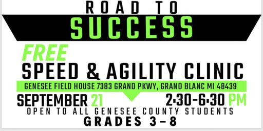 Dig Deep Road to Success Speed and Agility Clinic