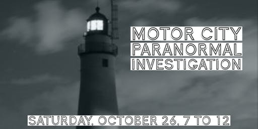 Motor City Paranormal Investigation at Fort Gratiot Light Station