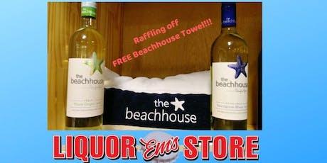 Friday Wine Tasting- Beachhouse Pinot Grigio + Sauvignon Blanc tickets