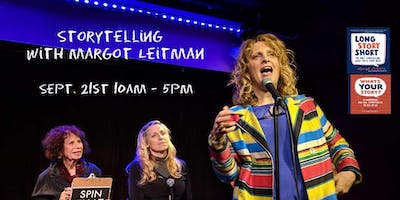 Storytelling with Margot Leitman SATURDAY