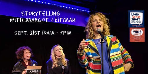 Storytelling with Margot Leitman SATURDAY