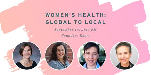 Women's Health: Global to Local