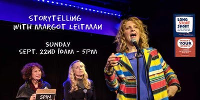 Storytelling with Margot Leitman Sunday