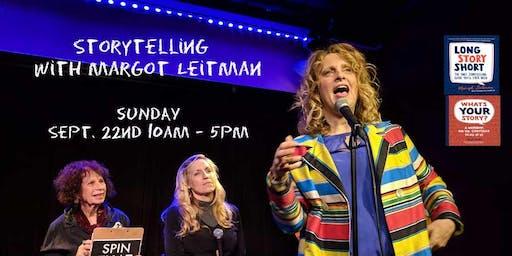 Storytelling with Margot Leitman Sunday