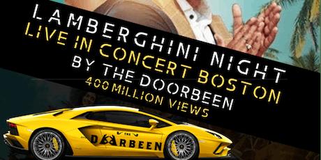 Lamberghini concert – The Doorbeen Live in Boston tickets