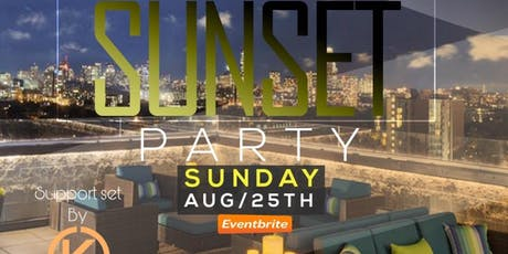 Sunset Sundays ROOFTOP PARTY tickets