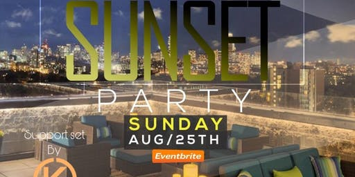 Sunset Sundays ROOFTOP PARTY