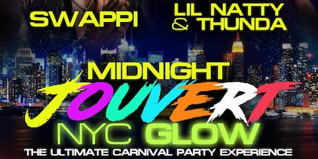 MIDNIGHT JOUVERT NYC GLOW tickets