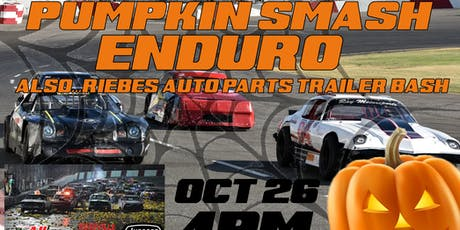 Pumpkin Smash Enduro and Riebes Auto Parts Trailer Bash 10.26.19 tickets