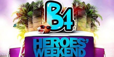 B4 Heroes' Weekend FOR THE LADIES tickets