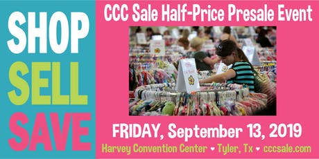 CCC Sale Half-Price Pre-sale Event Tickets Fall 2019 tickets