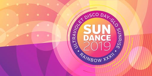 Sundance 2019 Rainbow XXXII: Ultraviolet Disco Day-Glo Sunrise