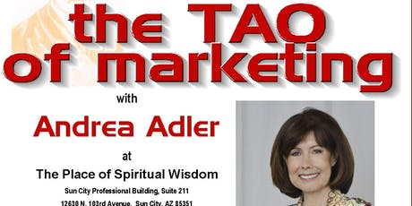 The Tao of Marketing Workshop with Andrea Adler tickets